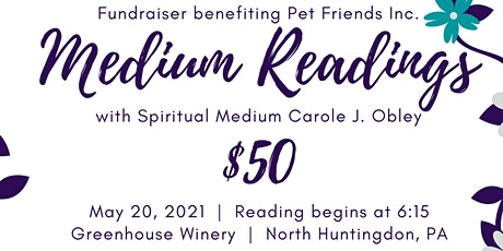 Medium Readings with Carole Obley tickets