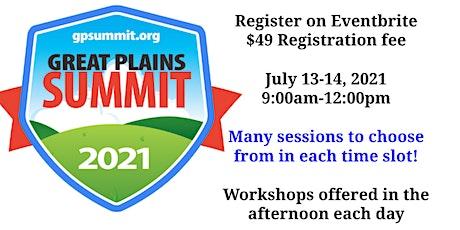 Great Plains Summit 2021 - Virtual tickets