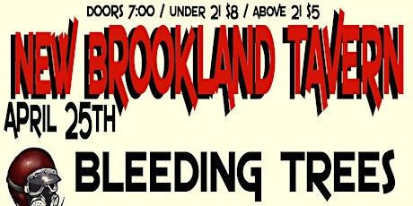 Bleeding Trees, Twin Toasters, Floc Martin at New Brookland Tavern tickets