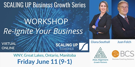Scaling Up Business Growth Workshop (WNY, Ontario, Great Lakes) tickets