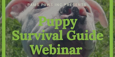 Puppy Survival Guide Webinar tickets