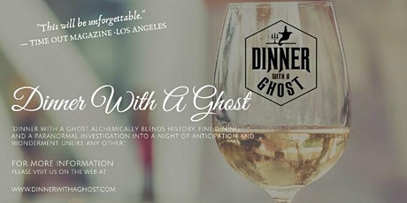 Dinner With A Ghost   The INN at HERR RIDGE tickets