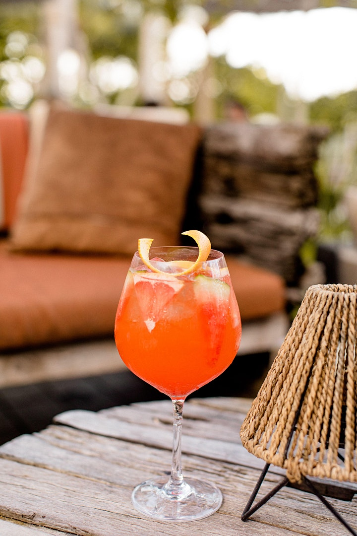 Golden Hour Cocktail Specials  with Aperol Spritz at 1 Beach Club image