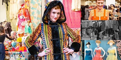 'The History of Secondhand Fashion, from Trash to Vintage Treasure' Webinar tickets