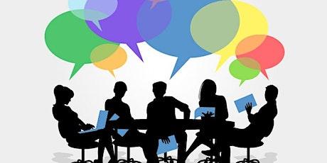 Virtual Community Advisory Chat tickets