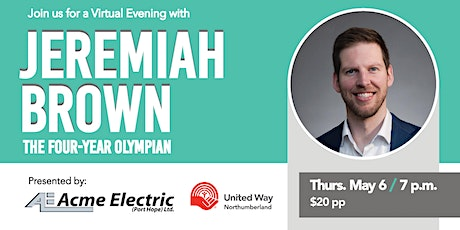 A virtual Evening with Jeremiah Brown tickets