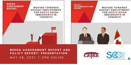 Council of Agencies Serving South Asians: Moving Towards Decent Employment tickets