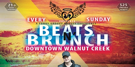 Beats N' Brunch Launch w/ DJ Dan in Walnut Creek 4.25.21 tickets