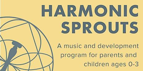Harmonic Sprouts (Mondays) ingressos