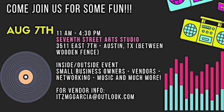 70's/80's Day at Seventh Street Arts Studio tickets