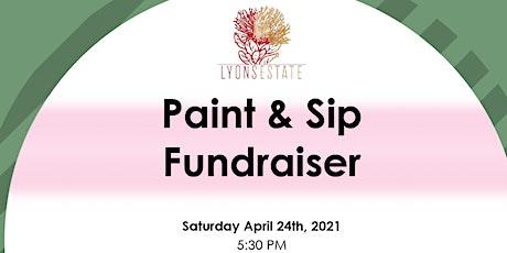 Paint + Sip: A Fundraiser tickets