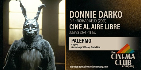 CINE AL AIRE LIBRE - DONNIE DARKO (2001) - Jueves 22/4 - 19HS entradas