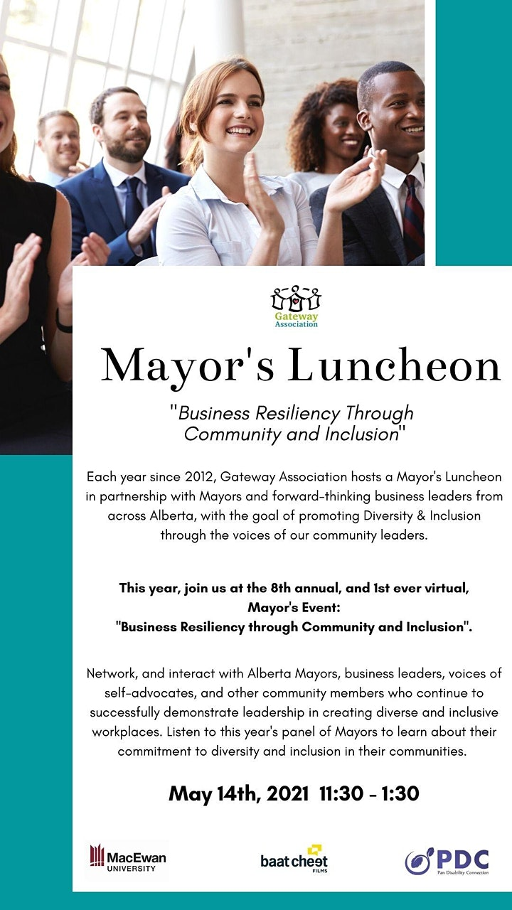 Mayor's Event; Business Resiliency through Community and Inclusion image