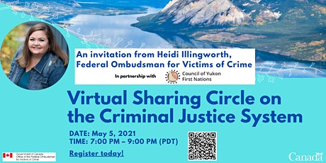 Virtual Sharing Circle on the Criminal Justice System tickets