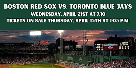 Red Sox Tickets - Wednesday, April 21st tickets