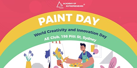 PAINT DAY: World Creativity and Innovation Day tickets