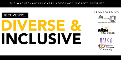 Recovery Is... Diverse & Inclusive tickets