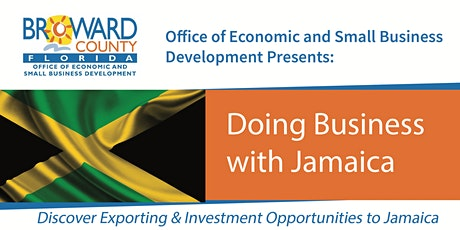 Doing Business with Jamaica tickets