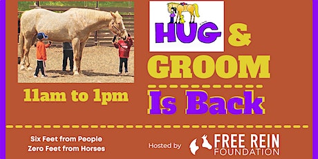 Hug and Groom is Back: Come and Meet Our Horses! tickets