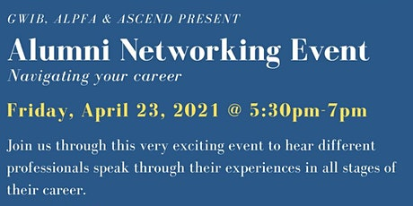 Alumni Networking Event, Navigating Your Career! tickets