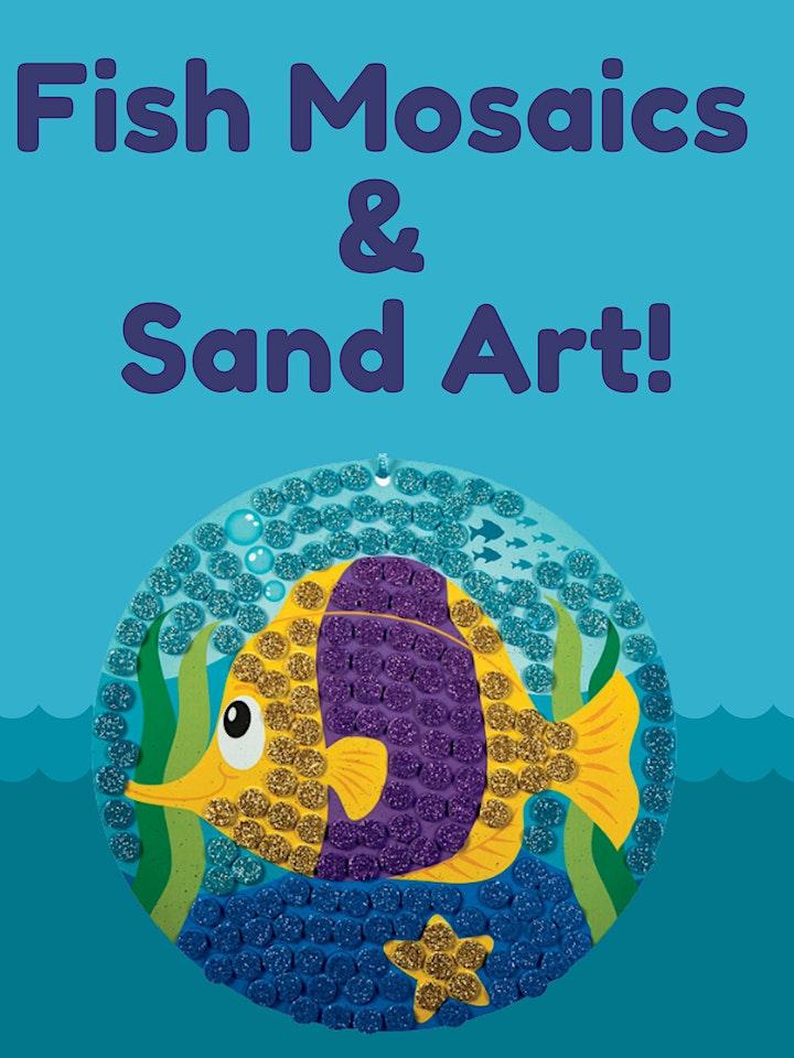 Fish Mosaics & Sand Art (Preschool / Elementary School) image