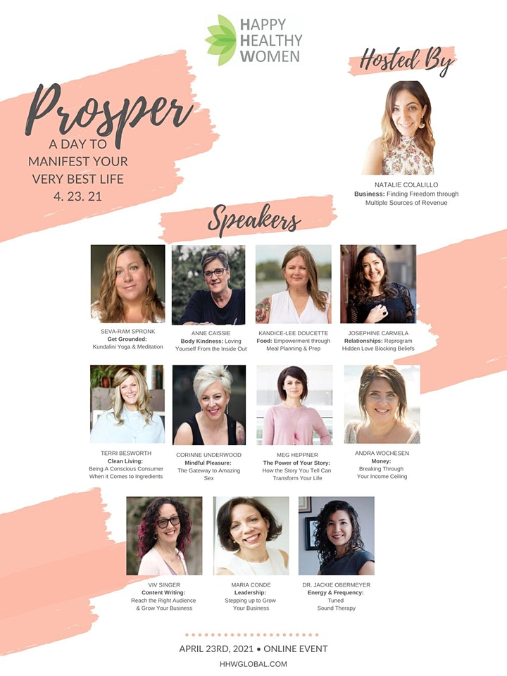 PROSPER: A Day To Manifest Your Very Best Life image