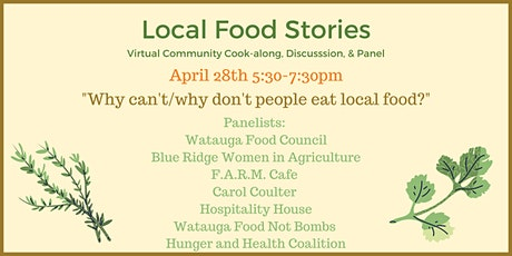 Local Food Cook-along Demonstration and Panel Discussion tickets