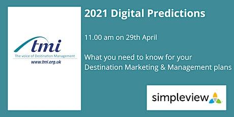 2021 Digital Predictions tickets
