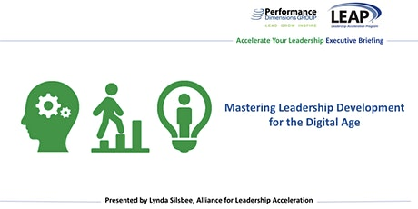 Mastering Leadership Development for the Digital Age Tickets