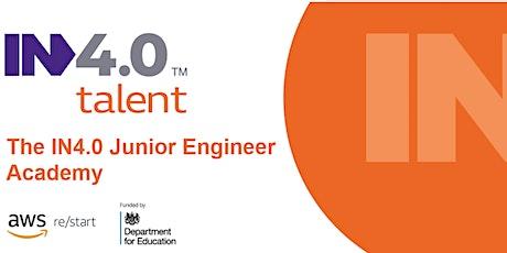 IN4.0 Junior Engineer Academy - Lancashire Recruitment Event tickets