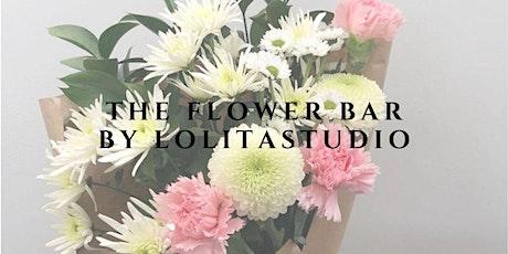 """""""THE FLOWER BAR"""" By Lolita Flores Estudio entradas"""