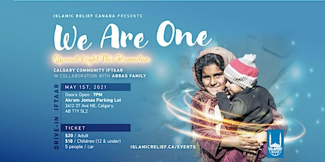Drive-In Iftaar - Abbas Family for Orphans tickets