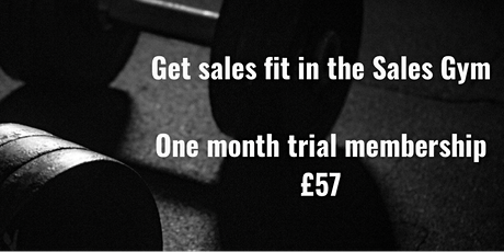 Sales Gym group session tickets