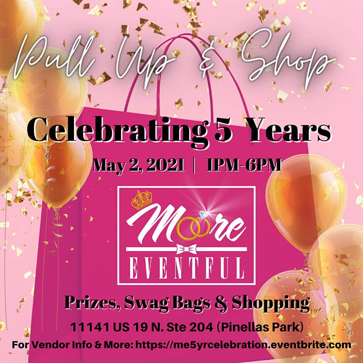 Moore Eventful Celebrates 5 yrs: Pull Up & Shop image