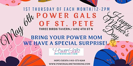 POWER GALS NETWORKING OF ST PETE tickets