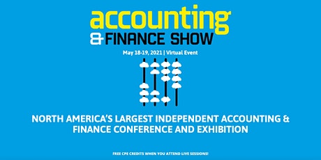 Accounting & Finance Show Americas 2021 tickets