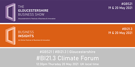 #BI21.3 Climate Forum tickets