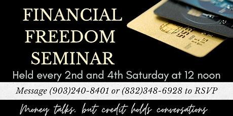 Financial Freedom 101 Seminar tickets