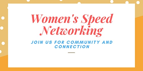 Women's Speed Networking tickets
