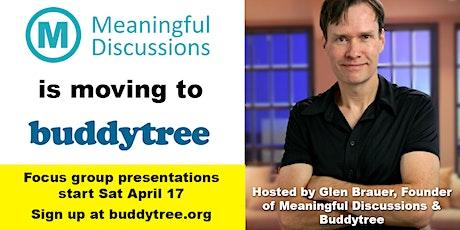 Buddytree Presentation (#5) tickets