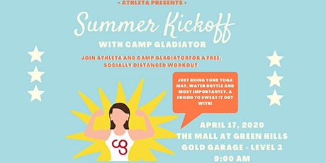 Athleta Presents: Summer Kickoff with Camp Gladiator! tickets