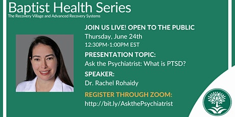 Ask the Psychiatrist: What is PTSD? tickets