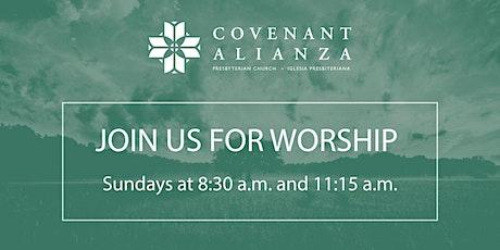 April 18 Worship Service tickets