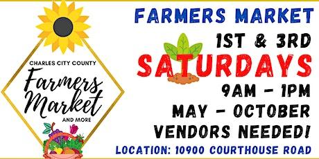 Charles City County Farmer's Market tickets