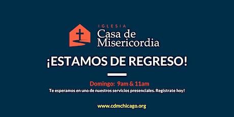 Servicio Domingo, 18  de Abril - 11:00am boletos
