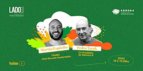 LADO E: Martín Espósito + Pedro Tarak boletos