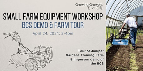 Small Farm Equipment Workshop tickets