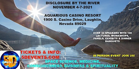 DISCLOSURE BY THE RIVER tickets