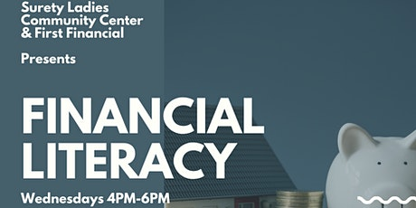 13-Weeks Financial Literacy tickets