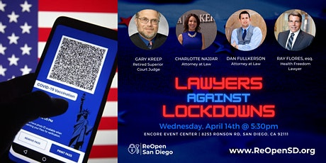 ReOpen San Diego Legal Panel Discussion tickets
